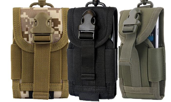 Sensual Sale: Universal Tactical Travel All Day Phone Pouch: One ($14) or Two ($19)