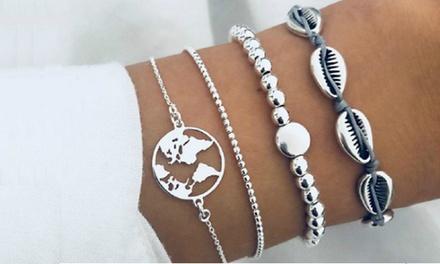 Set 4 bracciali Lea