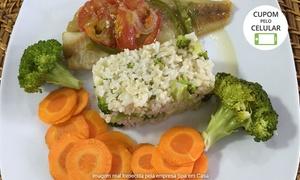 Spa em Casa: Spa em Casa – Vila Moreira: kit de refeições de baixa caloria com 5, 10 ou 15 pratos