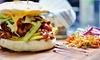 Formule avec burger ou wrap au choix