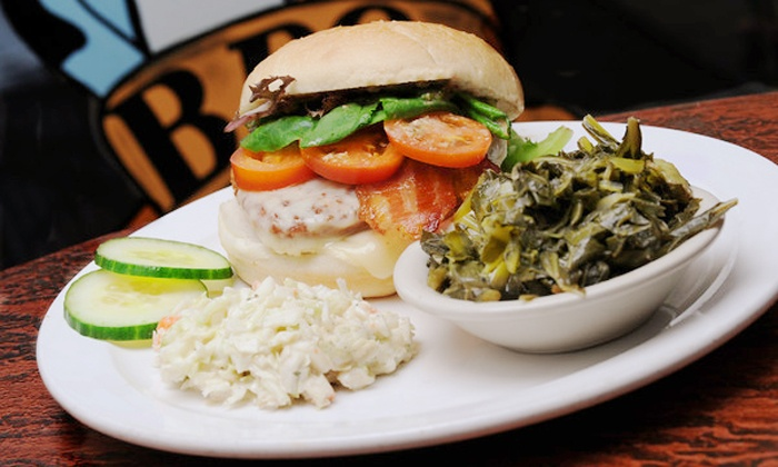 The Blues BBQ & Grill - East Dundee: $12 for $20 Worth of Barbecue for Dine-In or Pick-Up at Blues BBQ Bar and Grill. Order Online.
