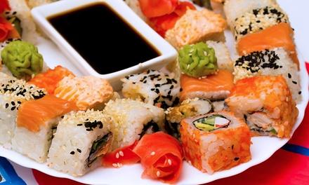 Combinado com 40 ou 50 peças de sushino Porto Sushi Lounge e Delivery – Menino Deus
