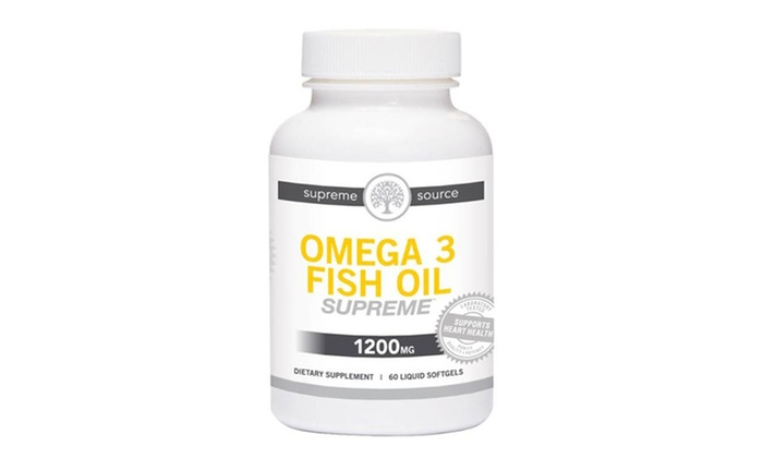 B2g1 supreme source fish oil groupon goods for Fish oils are a good dietary source of