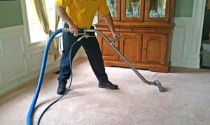 Thoroclean: Carpet Steam Cleaning for Three or Four Rooms from Thoroclean (Up to 59% Off)