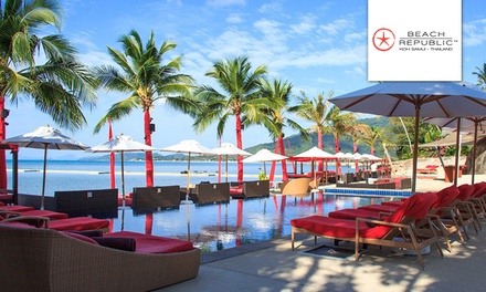 Thailand: 3, 5 or 7 Nights for Two or Four with Breakfast, Transfers, and Massages at Beach Republic Koh Samui