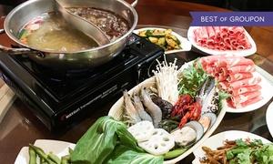 Chens Wok: Chinesisches All-you-can-eat-Feuertopf-Buffet für 2 oder 4 Personen bei Chens Wok (bis zu 21% sparen*)