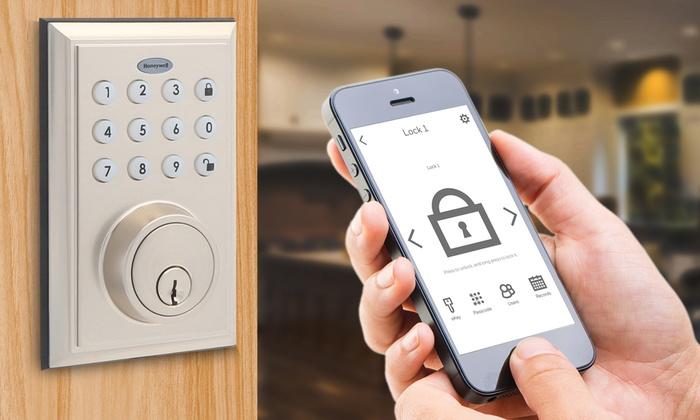 Up To 37% Off on Digital Bluetooth Door Locks | Groupon Goods