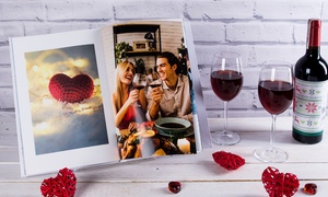 Colorland: Up to Five Personalised A4 Landscape Hardcover Photobooks from Colorland (Up to 88% Off)