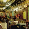Cena in vagone dell'Orient Express