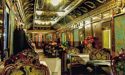 Cena nel treno Orient Express a 64,90€euro
