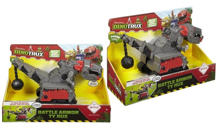 Dinotrux Battle Armour TY Rux sons et phrases Figure Toy