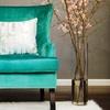 Soho Turquoise Velvet Wingback Chair