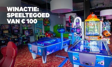 Winactie: € 100 speeltegoed om games te spelen bij Sir Winston Fun & Games in Schiedam