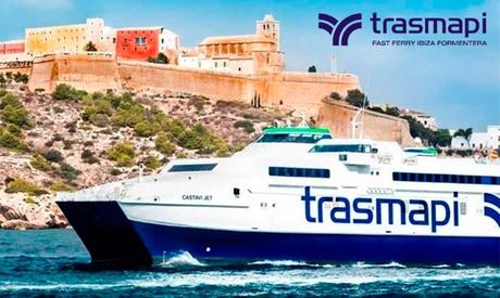 Billete para Formentera ida y vuelta para 1 o 2, residentes o no con Trasmapi