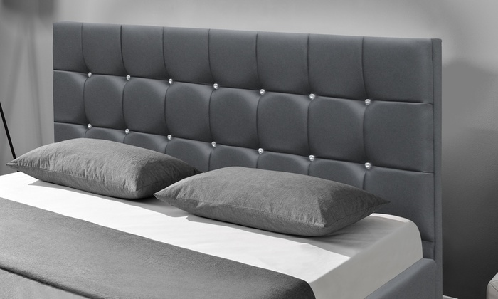 lit coffre et matelas groupon. Black Bedroom Furniture Sets. Home Design Ideas