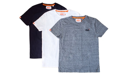 Superdry Men's Orange Label Vintage TShirt: One $29.90 or Two $55 Don't Pay up to $79.90