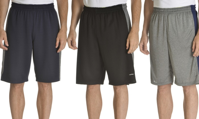 RPX Men's Mesh Athletic Shorts