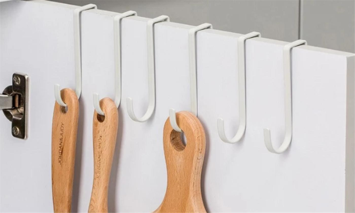 One, Two or Four Multifunction Kitchen Hooks