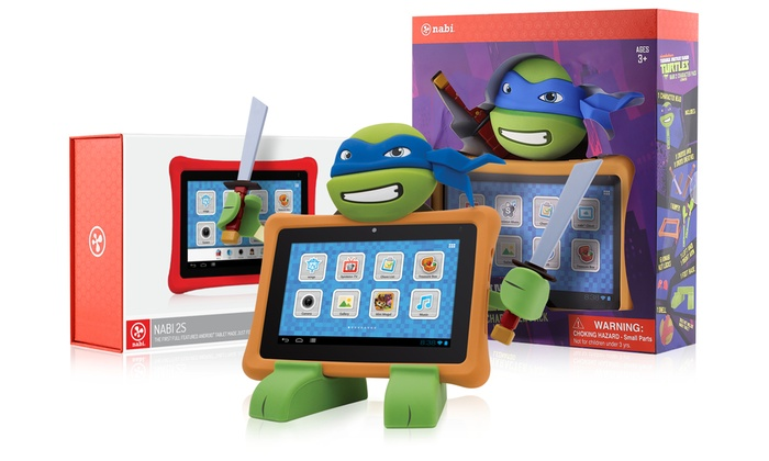 Nabi 16gb 2s Tablet Tmnt Stand Groupon Goods