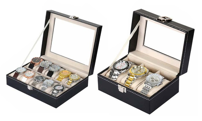 Sensual Sale: From $19.95 for a Watch Storage Display Box