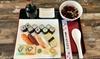Sushi-Platte & hausgemachte Suppe