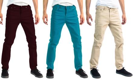 Alta Designer Men's Slim-Fit Skinny Denim Jeans