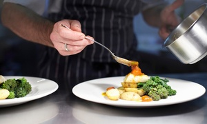 The Rock Hotel: Two-Course Meal for Two or Four at The Rock Hotel (Up to 65% Off)