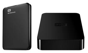Western Digital Wd Elements 750gb Usb 3.0 External Hard Drives (manufacturer Refurbished)