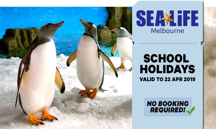 SEA LIFE Melbourne: Child $25.20 or Adult $37.80 Entry Up to $42 Value