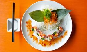 Oishii Sushi: Menu de sushis pour deux ou quatre personnes au restaurant Oishii Sushi (jusqu'à 52 % de rabais)