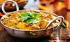 Menu cuisine indienne pour 2