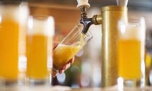 One Flight and Two Pints for Two or Two Flights and Four Pints for Four at Sixfour Growlers (Up to 53% Off)