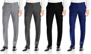 Fino Uomo Men's Slim-Fit Dress Pants