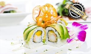 Sushi Factory (Zentrale): Wertgutschein über 20 oder 40 € anrechenbar auf Speisen und Getränke in teilnehmenden Filialen der Sushi Factory