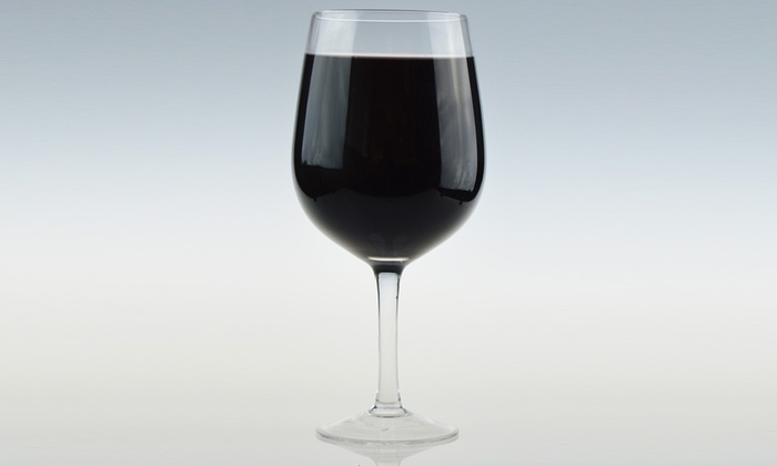 Giant Wine Glass For A Whole Bottle Groupon