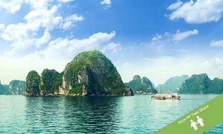 Vietnam: $799 Per Person for an 11-Day North-to-South Tour with a Cruise and Domestic Flights with Halong Tours Booking