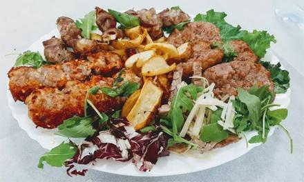 Menu di carne tipico pugliese con dolce e vino a 24,90€euro