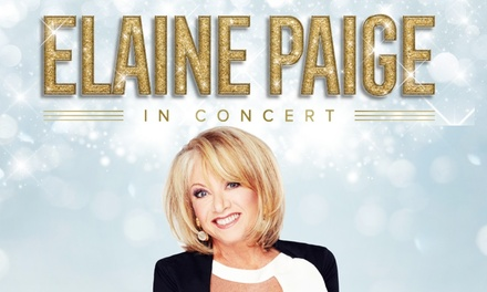 Elaine Paige, 4 October–3 November in Cardiff, Llandudno and Aberystwyth (Up to 39% Off)