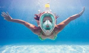 Breathefree GoPro Compatible Snorkel & Scuba Mask