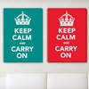"$49 for a ""Keep Calm and Carry On"" Canvas"