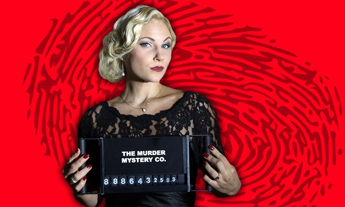 The Murder Mystery Co.: Murder-Mystery Dinner for One or Two at The Murder Mystery Co. (Up to 55% Off)