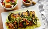 Basha Mediterranean Wood Grill - Marian Hills: Mediterranean Food at Basha Mediterranean Wood Grill (Up to 47% Off). Three Options Available.