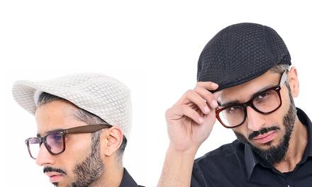 Men's Mesh Flat Cap