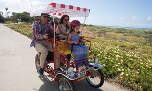 Wheel Fun Rentals: Bike Rentals from Wheel Fun Rentals (Up to 49% Off)