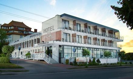 Wypoczynek lub pobyt odchudzający we Władysławowie: 2-8 dni dla 1 lub 2 osób z wyżywieniem w Hotelu Messa 3*