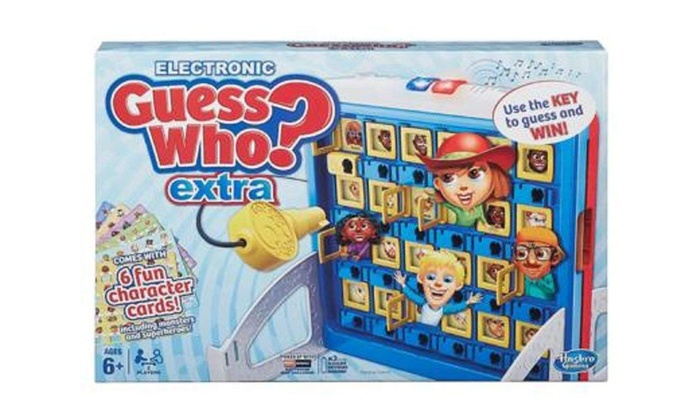 HASBRO Jeu Guess Who Electronic Guess Who Extra jeu