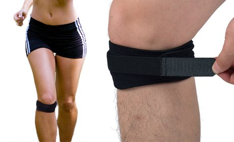 Extreme Fit Adjustable Patella-Tendon Straps (2- or 4-Pack)