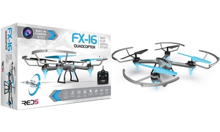 Red5 Fx16 Quadcoptor Drone Groupon