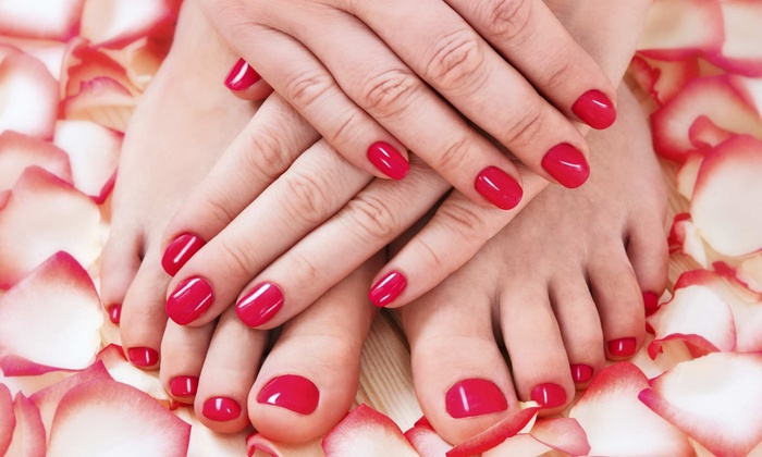 Brittany Maxfield Lifestyle Spa - Bridgeport: One or Two Regular or Spa Mani-Pedis at Brittany Maxfield Lifestyle Spa (Up to 56% Off)