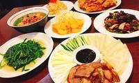 【最大48%OFF】本場の味を存分に堪能≪北京ダック・エビマヨなど台湾料理9品コース / 他4メニュー≫ @台湾料理参久